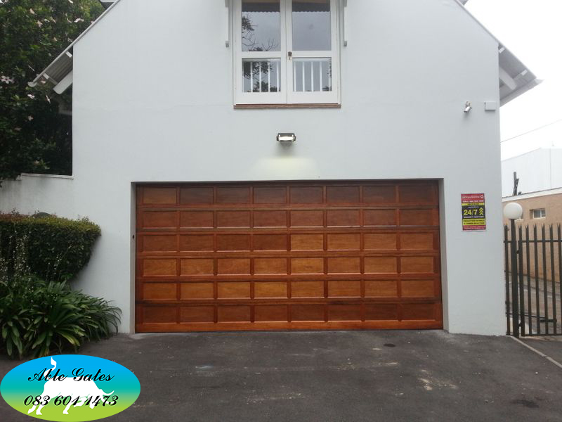 Garage Door 1 Able Gates Fencing Cc